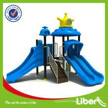 Système de jeu en plein air, Kids Plastic Jungle Gym en thème cosmos avec certificat CE LE.SY.006 MADE IN CHINA