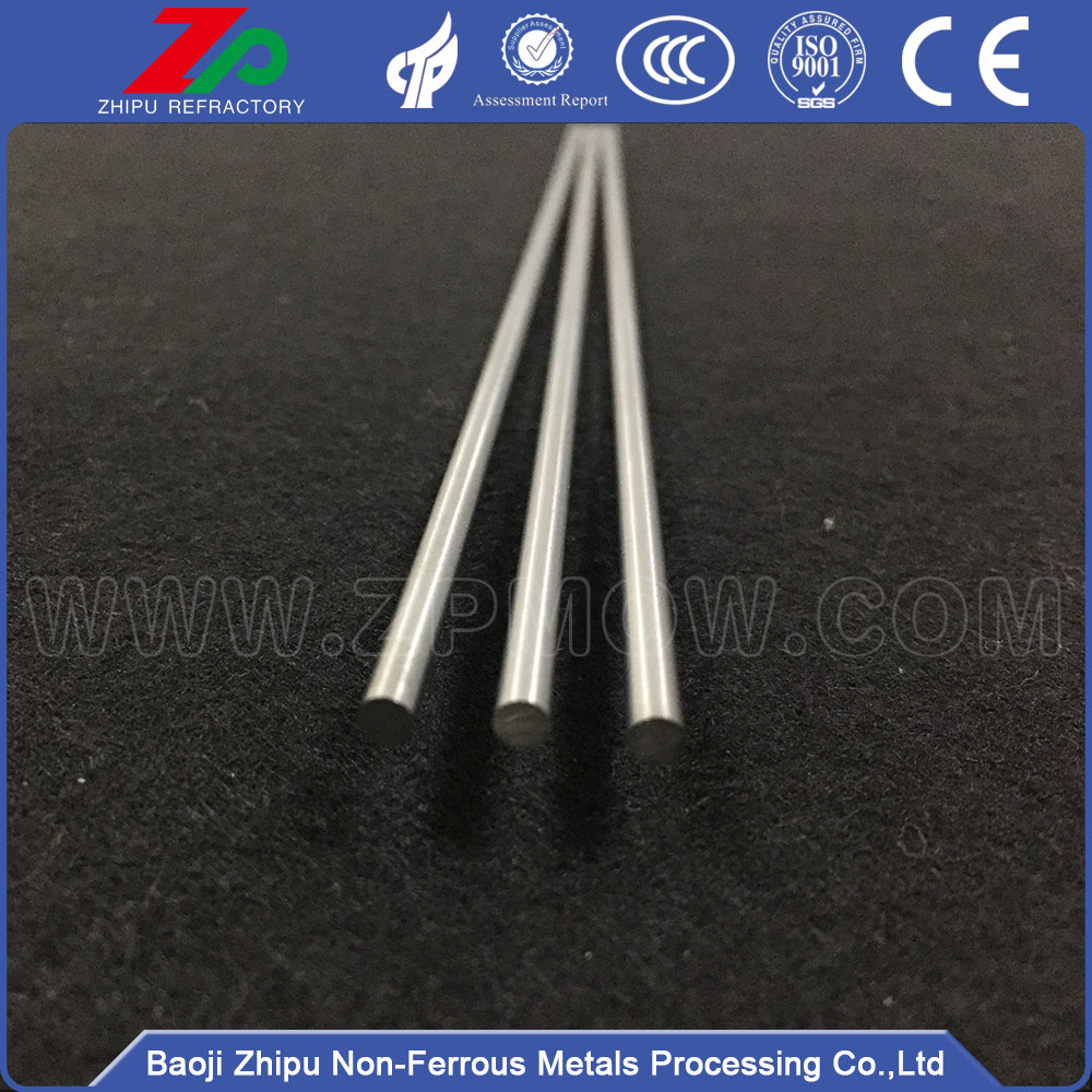 99.95% Polished Molybdenum Bar / Rod