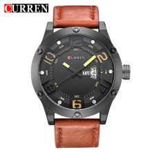 Classical Fashion Leather Waterproof Men Watches
