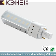 6W LED-rör 2 Pin G24 Lamp 3000K
