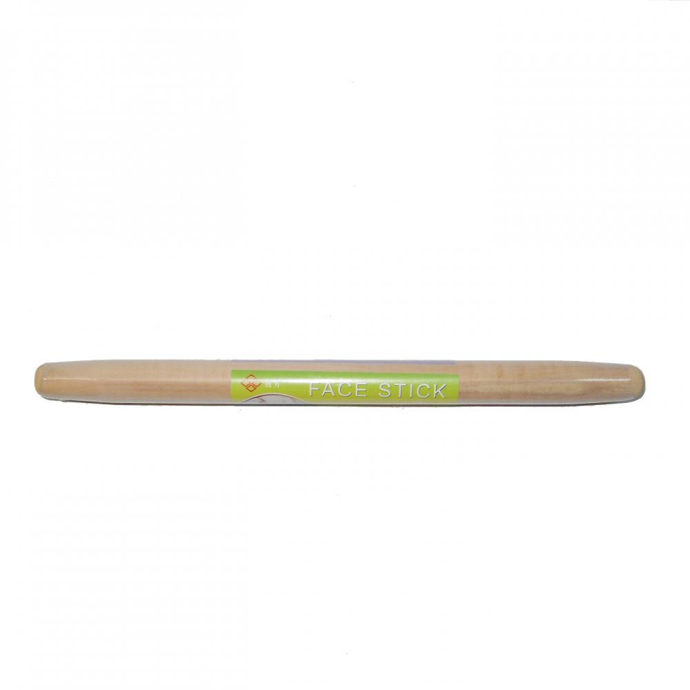 Wood rolling pin with nature color