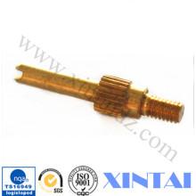Piezas de torneado CNC de latón personalizadas