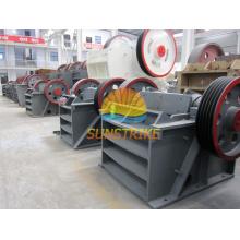 Línea de producción de arena y trituradora minera y piedra trituradora de mandíbula