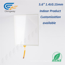 Film + Glass USB Controller 5.6 pulgadas de pantalla táctil Digitalizador Panel de vidrio