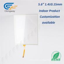 Пленочный + стеклянный USB-контроллер 5,6-дюймовый сенсорный экран Digitizer Glass Panel
