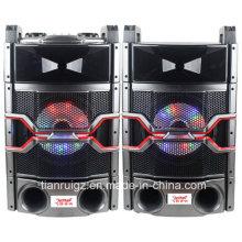 Sistema de megafonía profesional de 10 pulgadas con luz LED 200W E244