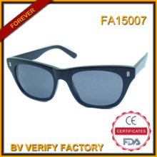 Fa15007 Italian Brand Name High Quality Acetate Sunglasses
