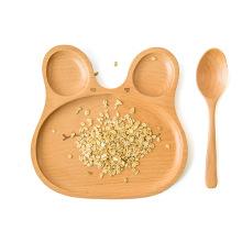 Тавро OEM японский декоративный обеденный детский, обслуживающих деревянные кухни детская тарелка