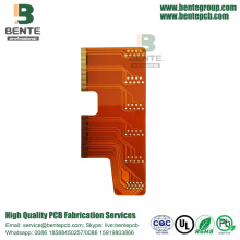 Industrial Control Flexible PCB 2 Capa Golden Finger