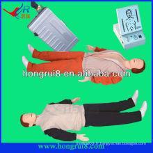 Simulateur de premiers soins adulte avancé Full Body CPR manikin the manikin