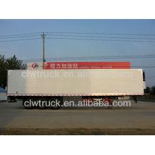 75cbm Big capacity refrigerated van semi-trailer,china refrigerated box trailer factory