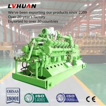 500 кВт охладитель воды Молчком сенью угольных пластов газовый генератор