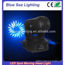2015 hotsale 75w mini diso light led moving head spot