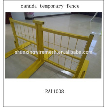 Используемый временный забор, временное ограждение для собак