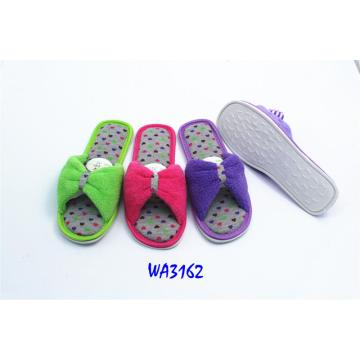 Women's Tensed Binding Indoor Slippers Open Toe