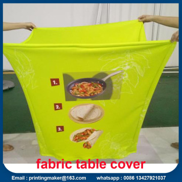 Cover Fabric Fabric Table Cover dengan Percetakan