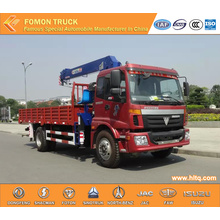 FOTON 4*2 crane truck 5tons with straight arm