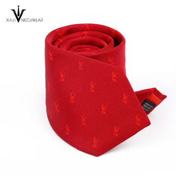 Custom Printed Polyester Microfiber Tie In China