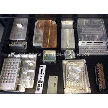 Bienvenue personnalisés différents types de partie CNC en aluminium