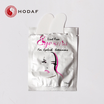 Pabrik Eyelash Extension Lint Gratis Gel Eye Pads