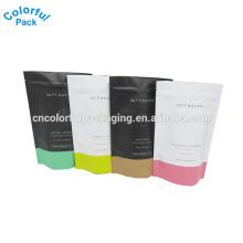 Customzied Matte Plastiktüte 200g Kaffee Körperpeeling Verpackung