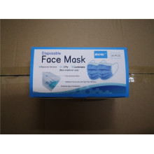 3ply face mask with 50pcs per bag