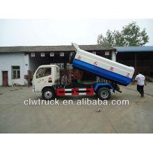 DFAC 5000L camión de recogida de basura con cubo de basura