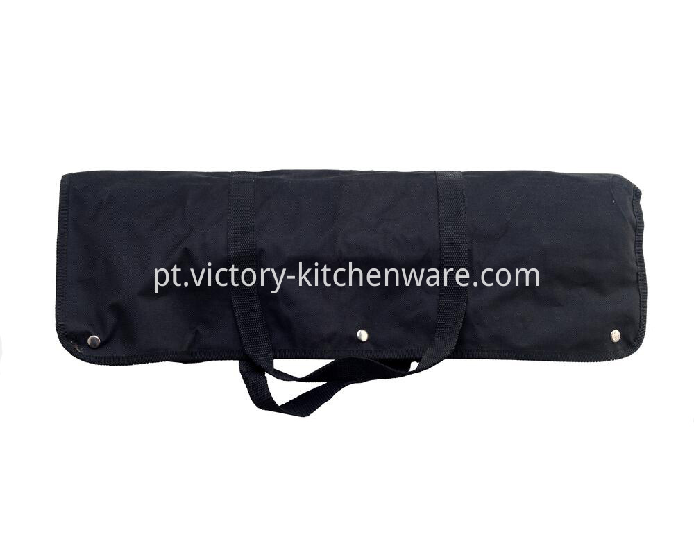 BBQ tool set with apron bag