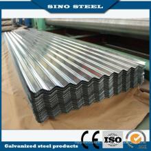 0.3m Thickness 762mm Width Galvanized Corrugated Steel Sheet