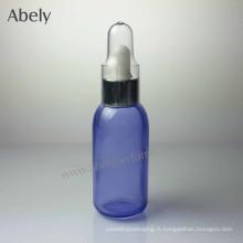 Bouteilles d'huile de verre ordinaire et portable de 35 ml