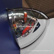 1/4 de espelho convexo da abóbada, espelhos convexos da abóbada acrílica da segurança de 90 graus