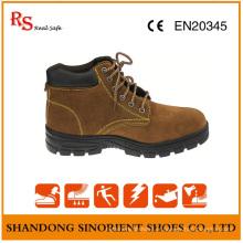 Chaussures de sécurité dames avec des talons bottes de sécurité de travail féminin