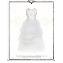 Lovely Lace Tulle Ivory Flower Girl Dress For Wedding baby wedding dress ED659