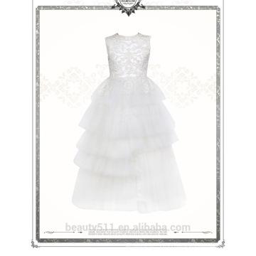 Lovely Lace Tulle Ivory Flower Girl Dress For Wedding baby wedding dress ED659