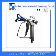 Pistola de pulverización de aluminio y cobre con CE