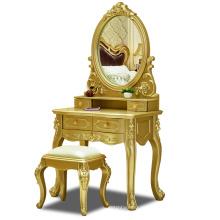 Wood make up mirror dresser cabinet dresser table for bedroom