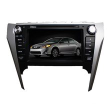 2DIN Car DVD-Player Fit für Toyota Camry 2012-2014 Asien Verision Radio Bluetooth-Stereo-TV-GPS-Navigationssystem