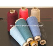 Fio de lã por atacado 100% fio de lã da Mongólia Interior fábrica China máquina de tricô de fios de lã