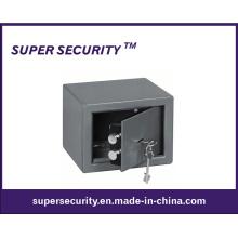 Caja de seguridad mecánica con orificios de fijación / pernos dobles para Home Decurity (SJJ0609)