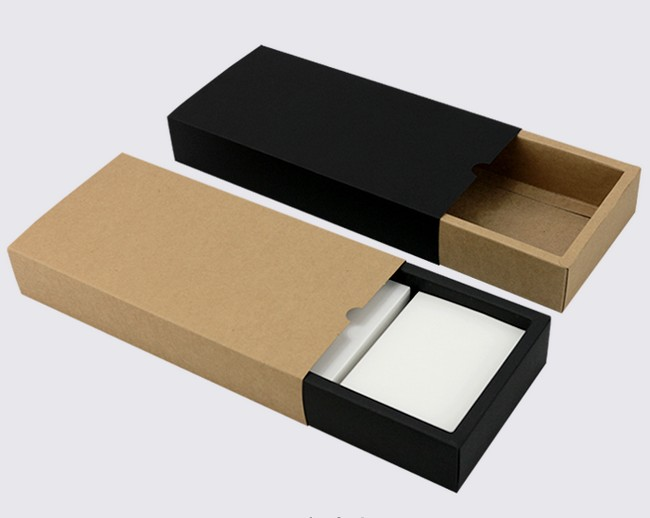 Foldable Drawer Kraft Box