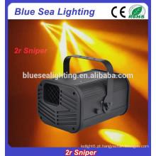 Efeito de palco luz 2r sniper dj scanner varredura iluminação
