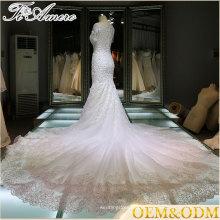 Vestido de noiva feminino vestido de noiva branco Vestido de noiva Guangzhou vestido de casamento 2017