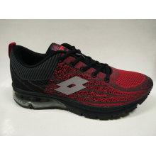 Retro Red Printing Fliegen Knit Sport Schuhe Schuhe