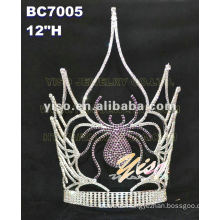 spider crystal lcolor crystal tiara
