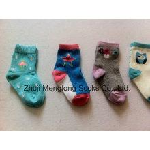 Ausgefallene Baby Cotton Socken Gestrickte Socken
