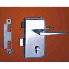 Le cylindre de porte de serrure mécanique de porte en verre de matériau en alliage de zinc de haute qualité