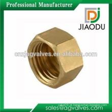Preço de fábrica boa venda cw617n tampa de rosca hexagonal de latão para pex al pex tubos