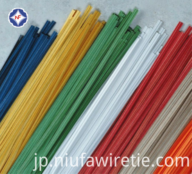 Solid Color Paper Twist Tie