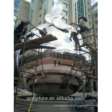 Urban large outdoor stainless steel 304L balls metal large sphere for sale