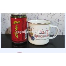 Christmas promotional printed enamel mug
